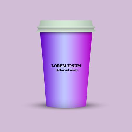 coffee mug for web application Ilustração