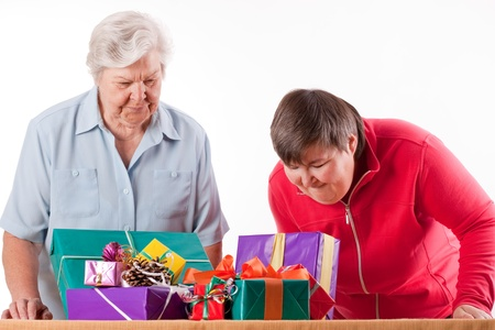 mentally: Senior with mentally handicapped daughter consider presents