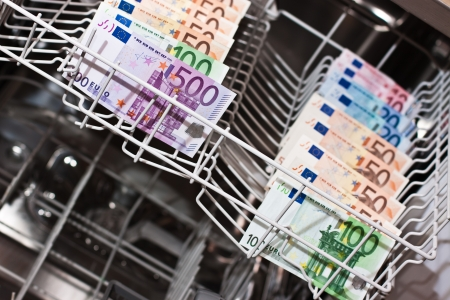 money laundering: money laundering in the dishwasher