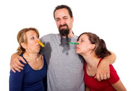 poty mężczyzny i kobiety nie chcesz powąchać