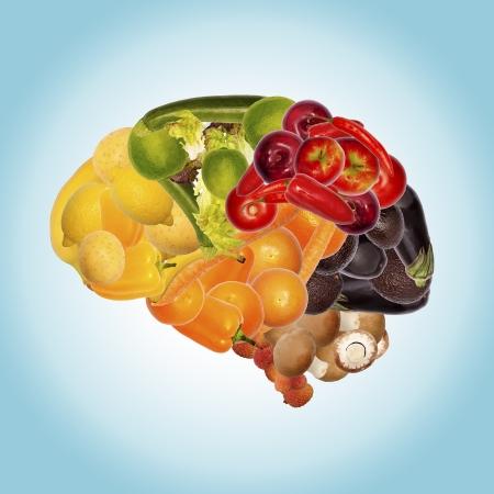 健康的な栄養が脳のために良い