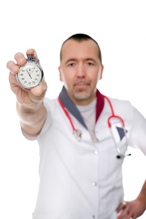 preventive: concept doctor shows the important of preventive medicine inspection