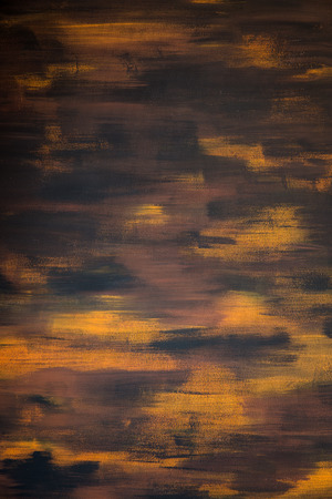 painting art: a brown and orange painting art background Stock Photo
