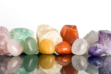 miscellaneous mineral stones, crystal healing for alternative medicine, reflections
