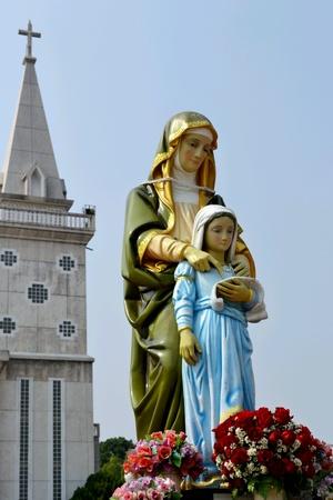 anna: Saint Anna Temple Nakonphanom Thailand