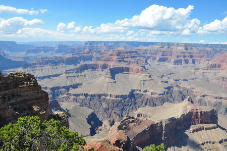 the height of a rim: On the ridge of Grand Canyon National Park