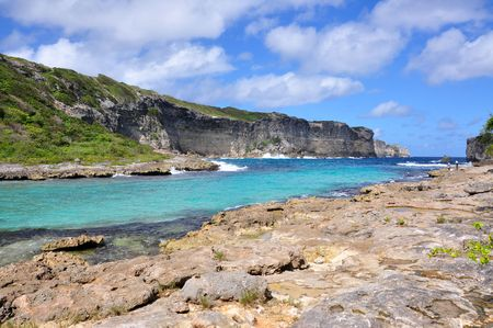 guadeloupe: North shore of Guadeloupe