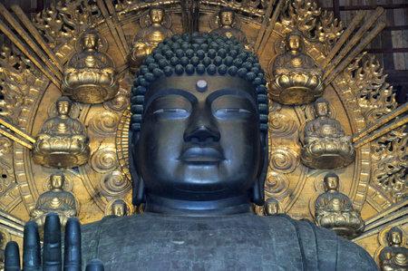 nose ring: Todai-ji Buddha, Nara, Japan