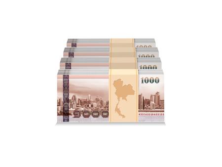 タイ地図お金バンコク グラフィック 3 D