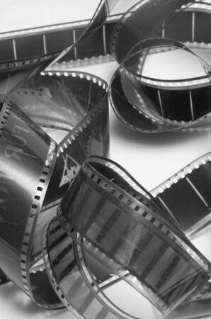cine: Film strip Stock Photo