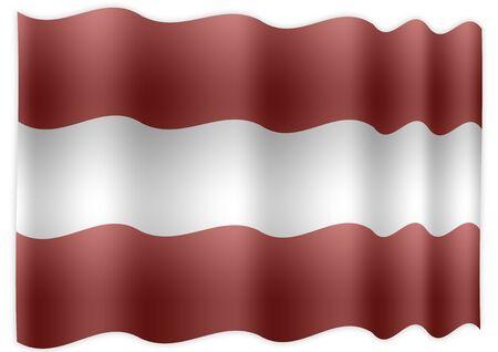 fluent: Austria Flag Stock Photo