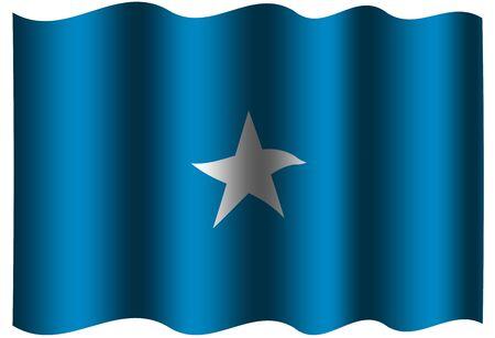 alternatively: Somalia Flag Stock Photo