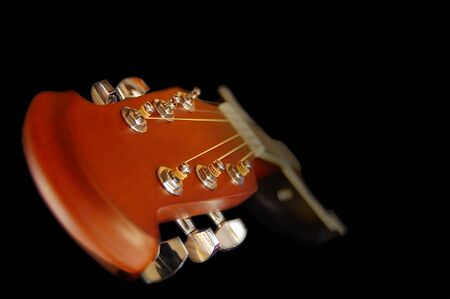 Gitarre Standard-Bild - 5555522