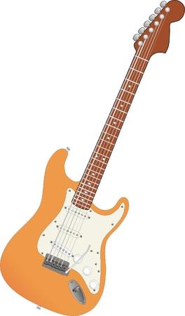 Gitarre  Standard-Bild - 5630797
