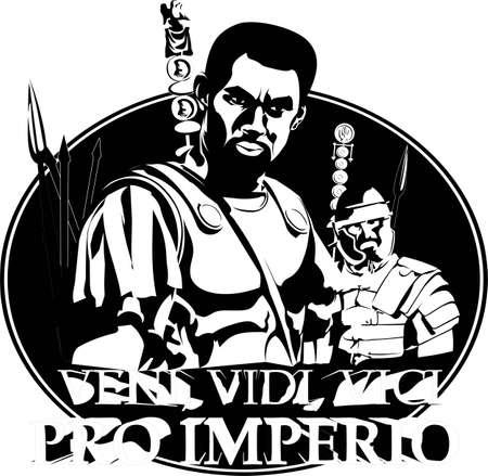 Centurion Legionär Illustration