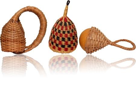 indios: Various rattles