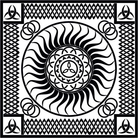 Vector medieval - Keltic designs Stock Photo
