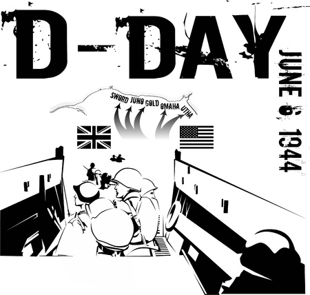 D-DAY Illustration