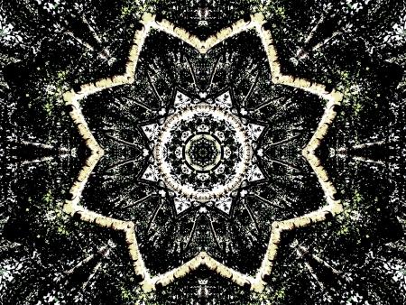 Kaleidoscope Gothic Standard-Bild - 21124128