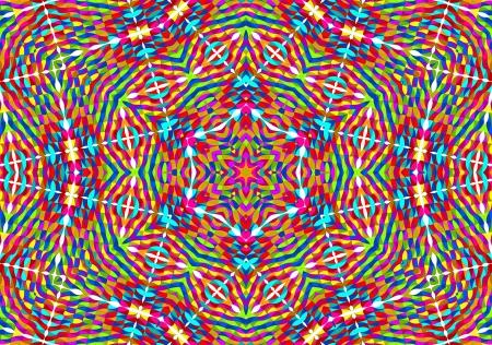 Kaleidoskop-Mandala