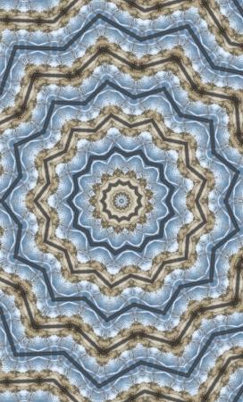 Kaleidoskop Mittelbluestar