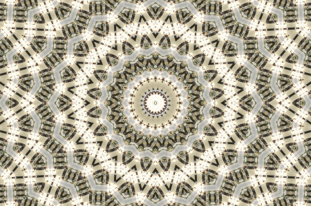 Kaleidoskop Licht Braun Stern Lizenzfreie Bilder