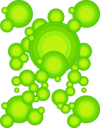Die Grüne 70 s Jahr Styling