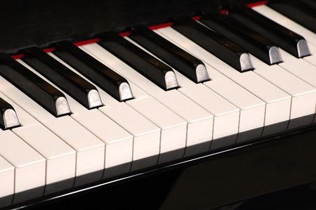 general knowledge: Piano keyboard Stock Photo