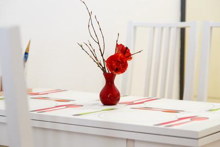 Wohnküche Tisch im modernen Stil