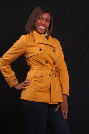 young woman posing Banco de Imagens