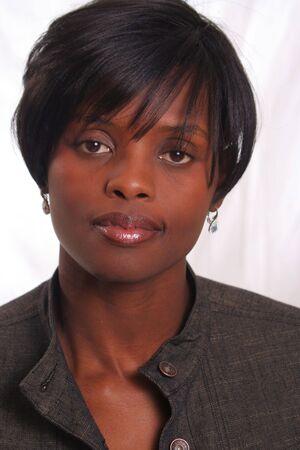 African American Professional Woman Banco de Imagens