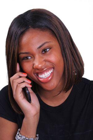 girl talkling cell phone