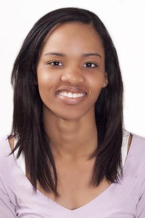 Ethnic Woman Smiling Banco de Imagens