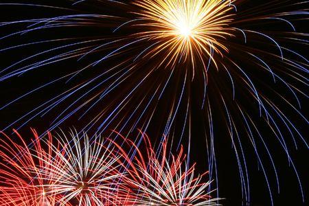 Fourth July Fireworks Display