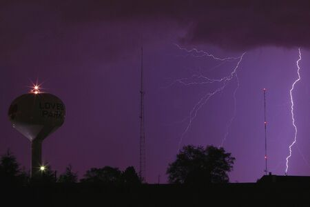 Lightning Thunderstorm Sky