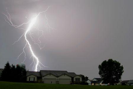 Lightning Storm Daytime Bolt