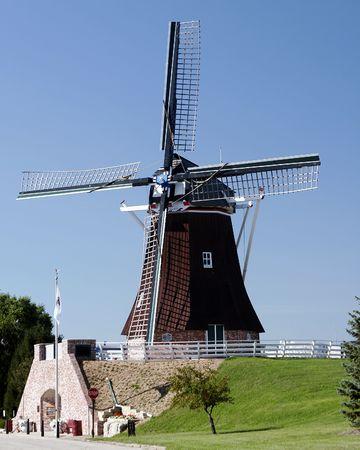 wind mills buildings landmarks dutch holland
