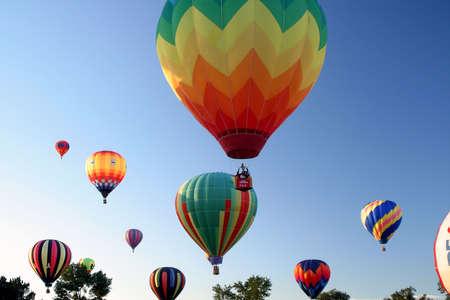 Hot Air Ballooning Sky