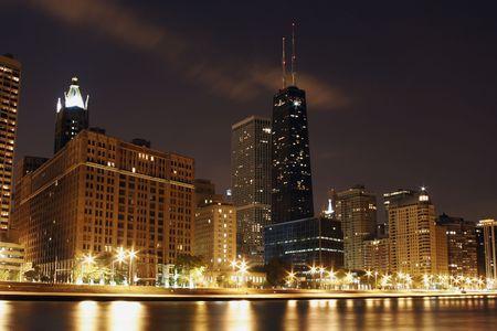 Chicago Cityscape Hancock North Ave