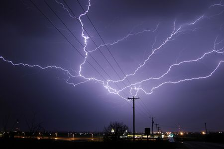 Lightning Thunderstorm Sky Rain clouds