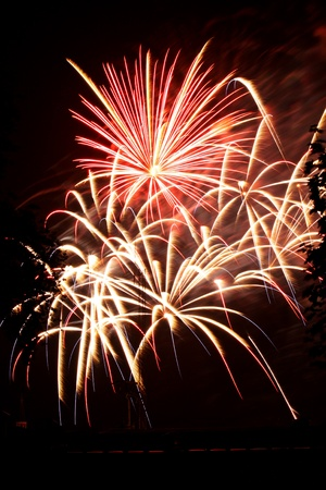 fireworks fourth of july celebration