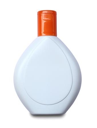 lotion bottle: Lotion bottle on isolated on white background