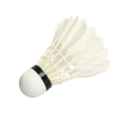 shuttlecock: Shuttlecock isolated on white background