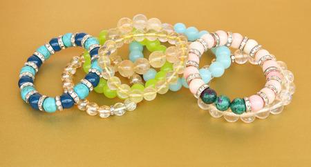 Colorful bracelets stone