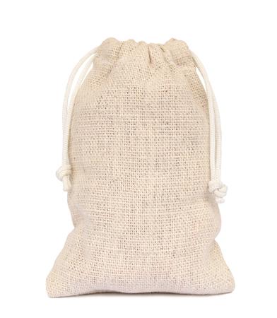 Bag sacking isolated on white background.