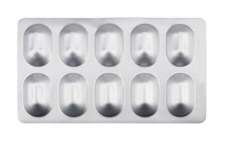 Medicine panel isolated on white background.