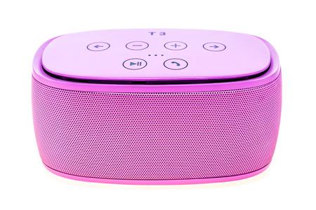Pink bluetooth speaker , speaker