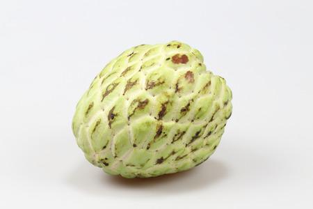 Fresh Custard Apple isolated on white background