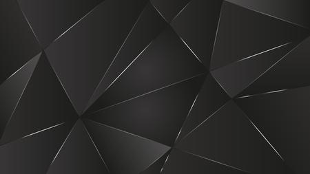 fond noir abstrait vecteur graphique concept de papier peint léger