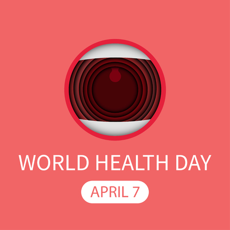 world healt day mouth greeting card april seven